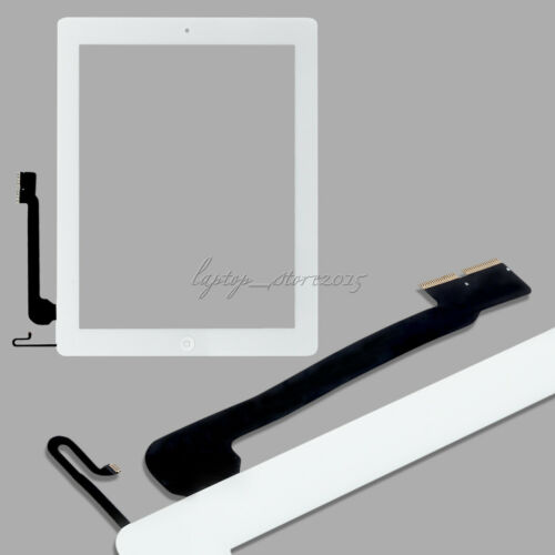 For iPad 4air 2mini 1 2 Touch Screen Glass Lens Digitizer Replacement +IC Chip