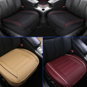 3D-Deluxe-Car-Seat-Cover-PU-Leather-Full-Surround-Pad-Mat-Auto-Car-Chair-Cushion