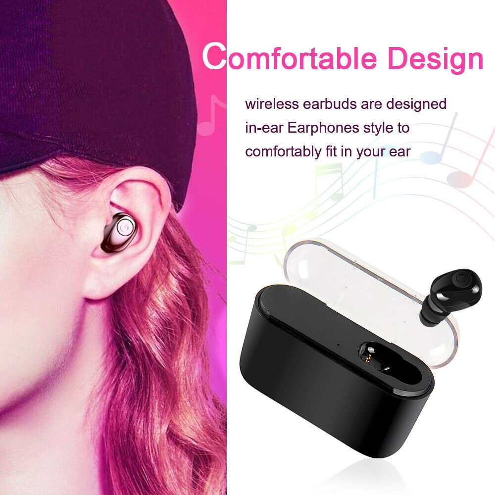 TWS Wireless X8 Bluetooth 5.0 Headset Twins Earbuds 5D Stereo Headphones US Cell Phone Accessories