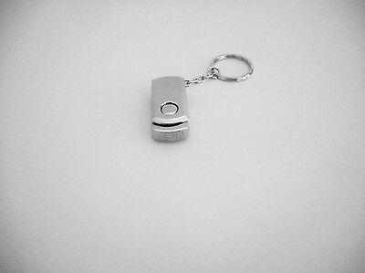 Flash Drive USB Memory Stick Pen New 8G School Silver Novel Gift Xmas