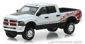 Greenlight-2016-Dodge-Ram-Power-Carro-Pick-Up-Camion-1-64-Pressofuso-Bianco