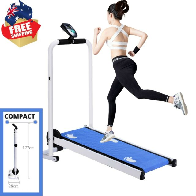 Compact Design Folding Treadmill LED Display Fitness Home Machine Exercise Multi