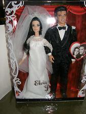 Barbie    Elvis & Priscilla wedding       collector box set 2008