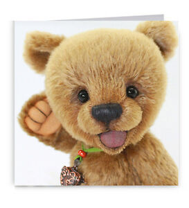Cute Teddy Bear Childs Birthday Card
