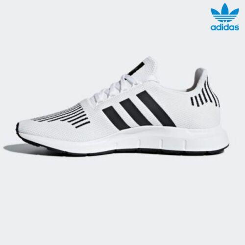 Adidas Original Swift Run Shoes Runner Shoes Running White Black Grey SZ 4-11