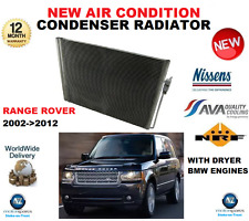 FOR RANGE ROVER LM AIR CON CONDENSER 2002-2012 3.0 3.6 4.4 + DRYER BMW ENGINES