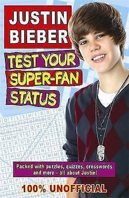 1 of 1 - Justin Bieber: Test Your Super-Fan Status,Gabrielle Reyes,New Book mon0000019878