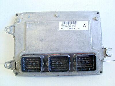 09-14 Acura TSX 37820-RL5-A56 Computer Brain Engine Control ECU ECM EBX Module