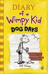 Dog-Days-Diary-of-a-Wimpy-Kid-Book-4-Kinney-Jeff-Used-Book-Fast-Deliver
