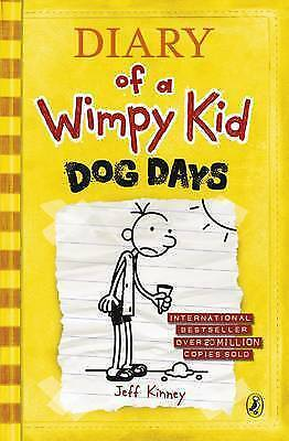 Dog Days: Diary of a Wimpy Kid (Book 4) by Jeff Kinney, Acceptable Used Book (Ha