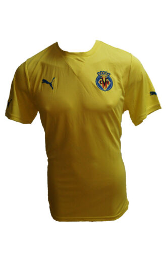 Home hogar camiseta amarillo 2011 2012 talla L nuevo embalaje original Puma camiseta Villarreal CF