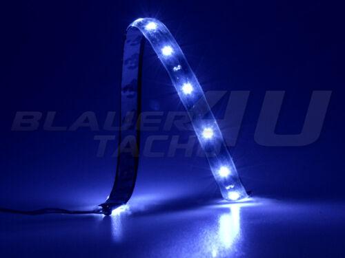 Bande LED flexible 15 LEDs 30cm étanche Bleu SMD