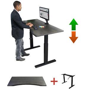 Boost-Enviro-DESK-Rustic-Charcoal-Desk-Manual-Crank-Adjustable-Sit-Stand-Frame