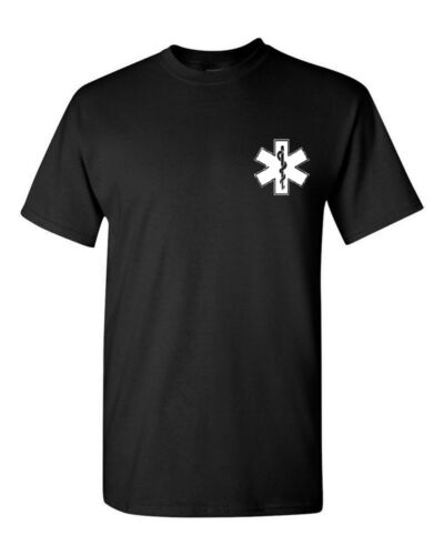 Star Of Life EMS EMT Logo T-Shirt Shirt SIZES S-5XL