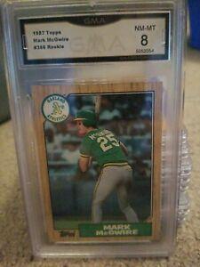 1987 Topps Mark McGwire GMA NM-MT 8  #366 Oakland Athletics