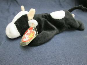 Image is loading TY-BEANIE-BABIES-COLLECTION-ORIGINAL-DAISY-BLACK-WHITE- 4da43bb0816b