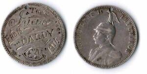 Deutsch-Ostafrika Soldaten-Souvenirmarke aus 1/2 rupie. 1916. ss 60701