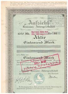 039-Aufsicht-039-Revisions-AG-Berlin-1916-1000-Mark