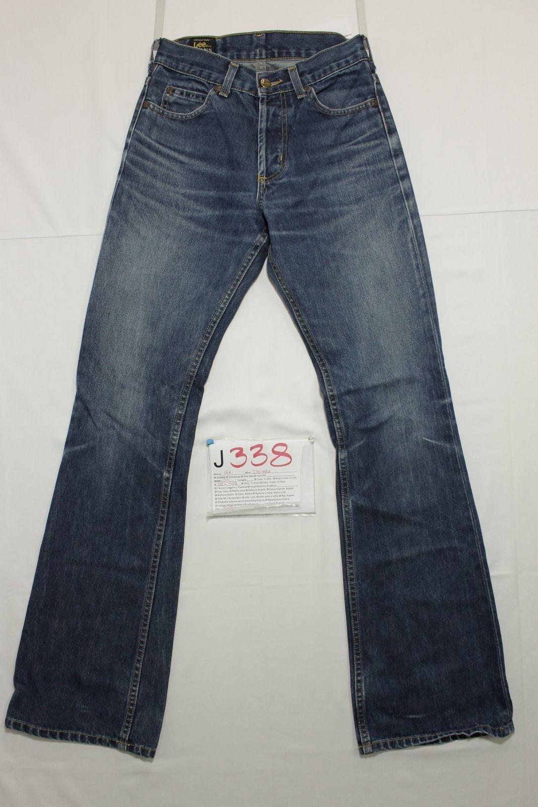 Lee denver (Cod.J338) Gr.42 W28 L34 jeans gebraucht Stiefelcut Pfote vintage