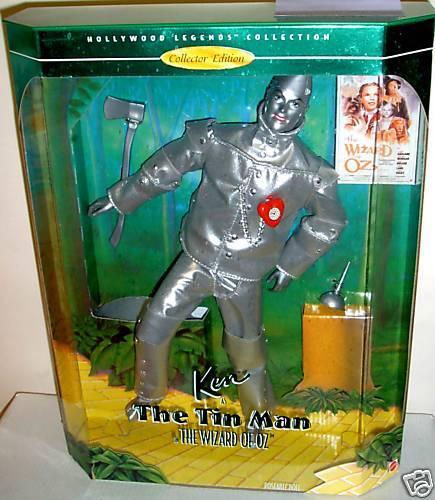 Nrfb Hollywood Legends Mago De Oz Ken (Barbie) como TINMAN