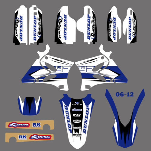 2002-2014 For Yamaha YZ125 YZ250 YZ 125 250 MX Graphics Stickers Kit Deco Decals