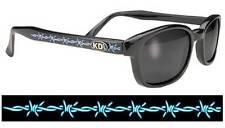 SAMCRO KD Smoke Sunglasses Tattoo Barbwire Sons of Anarchy W Pouch 2224