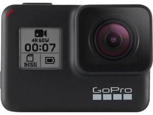 GoPro HERO7 Black — Waterproof Digital Action Camera with Touch Screen 4K HD Vid