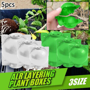 1//2//5pcs Plant Rooting Device High Pressure Propagation Ball Box Growing 5-12cm