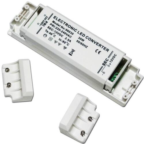 transformateur 12v DC 30w 2,5a LED pilote ballast CED Transformateur pour LED