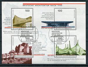 Bund-Block-37-gestempelt-Berlin-ESST-BRD-1906-1909-Ersttags-Sonderstempel-used