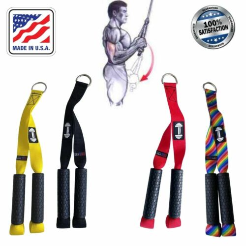 Straps Tricep Rope Pull Press Down Push Pull Crossover Gym Straps Gym Triceps