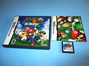 Details about Super Mario 64 (Nintendo DS) Lite DSi XL 3DS 2DS w/Case &  Manual