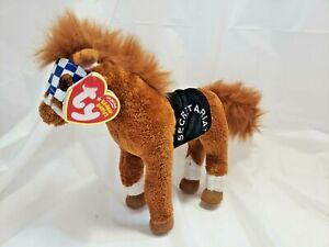 Ty Beanie Baby - SECRETARIAT the Horse1973 Triple Crown Winner With Tag