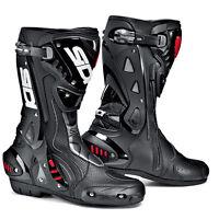 Sidi Men's St Air Boots Black Road Race Boots