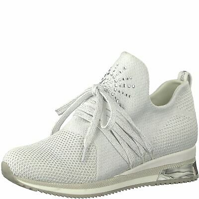 MARCO TOZZI Premio Fashion Sneaker Schuhe Low Top 2 23738 32 White Metallic | eBay