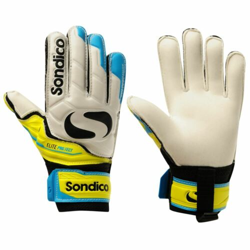 Sondico Childs Elite Protect Goalkeeper Gloves Playing Gaming Sport Active