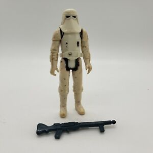 Vintage 1980 Star Wars Imperial Snowtrooper Action Figure Rifle HOTH