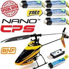 Blade BLH2480 Nano CP S BNF Ultra Micro Helicopter w 4X 150mAh 45C Lipo Battery
