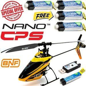 Blade-BLH2480-Nano-CP-S-BNF-Ultra-Micro-Helicopter-w-4X-150mAh-45C-Lipo-Battery