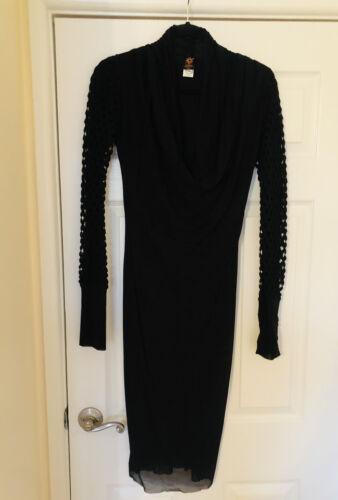 Jean Paul Gaultier Soleil Black Dress Size XL