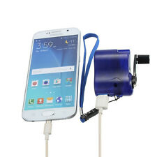 Mini Hand Travel Crank Hand-operated Dynamo USB Mobile Phone MP3 MP4 Charger