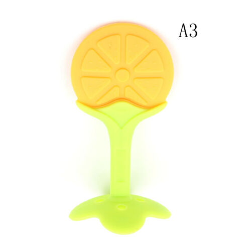 Fruits Baby Chew Teether Toys Silicone Teething Pendant Necklace BPA Free UK.