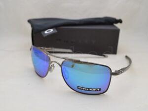 Oakley Gauge 8 >> Details About Oakley Gauge 8 Oo4124 06 57 Matte Gunmetal With Prizm Sapphire Polarized Lens