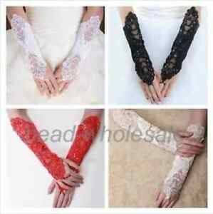 Bridal-Wedding-Dress-Gloves-Lace-Satin-Fingerless-Bridal-Costume-Gloves
