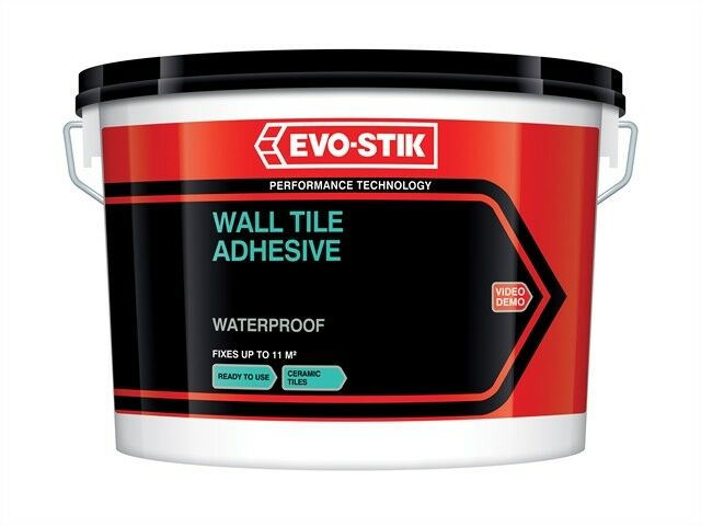 Waterproof Wall Tile Adhesive 5 Litre - Tiling Tools  - EVO416727