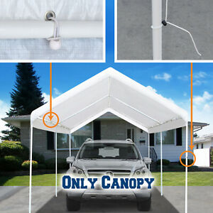 10x20 Carport Replacement Canopy Cover Tent Top Garage ...