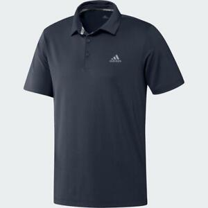 adidas-Golf-Ultimate365-Solid-Polo-Shirt-LC-Logo-Navy-Large