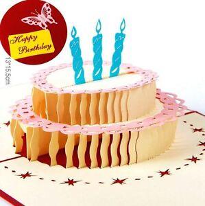 MYAFASHION-3D-Pop-Up-Fathers-Day-Birthday-Greeting-Gift-Card-Birthday-Cake-Card