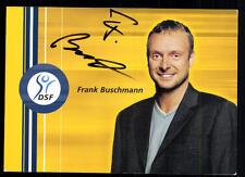 Frank Buschmann DSF Autogrammkarte Original Signiert ## BC 27840