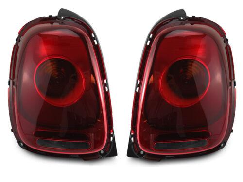 15-17 S Euro Cherry Red Tail Light For 14-17 Mini Cooper Base 3D Hatchback F56